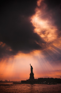 Liberty Sunset - USA