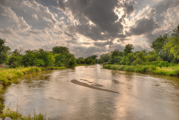 Platte River From South Locust