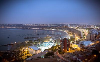Downtown Lima, Peru!