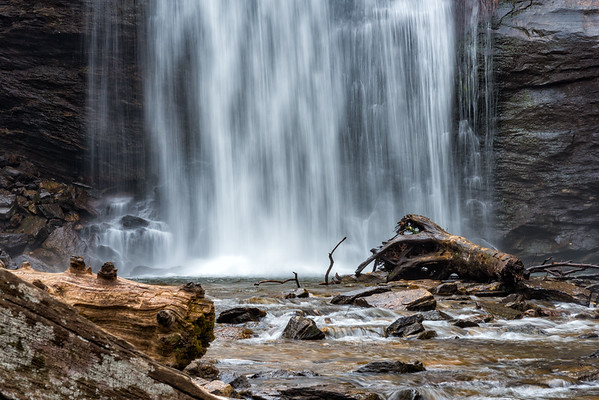 Looking Glass Falls - Pisgah National Forest - NC-11