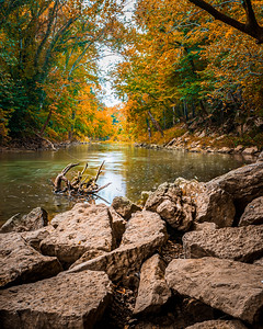 Harpeth River on a Fall Afternoon