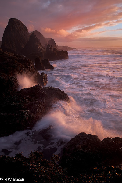 Seal Rock Sunset Seal Rock State Park Newport, OR