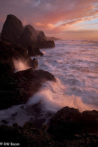 Seal Rock Sunset Seal Rock State Park Newport, OR
