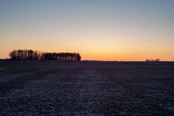 Henry Co Sunset