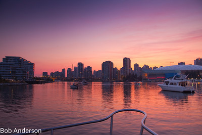 Moored in False Creek