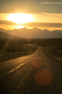 Taken along the Alaska Highway, between Whitehorse and Haines Junction