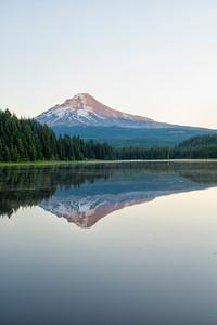 Trillium Lake Sunrise - Mount Hood-3