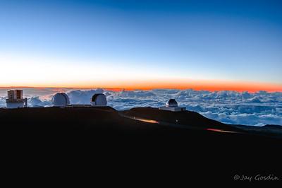 Mauna Kea Observatory -Big Island