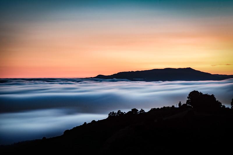 Tam Over a River of Fog