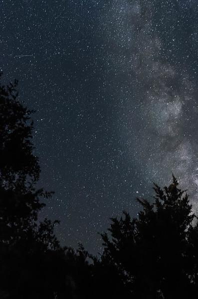 Milky way from Frisco backyard<br /> Location: Dare county, NC
