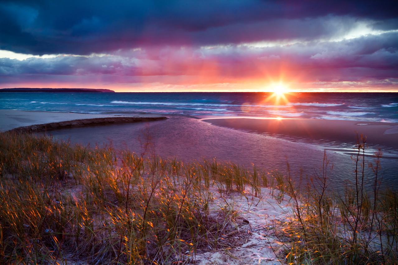 Lake Michigan Storm – Sleeping Bear Dunes National Lakeshore, Michigan