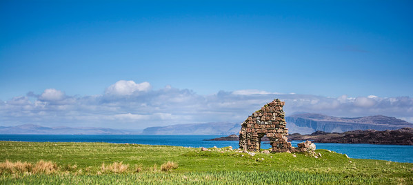 Ruins on the Isle of Iona