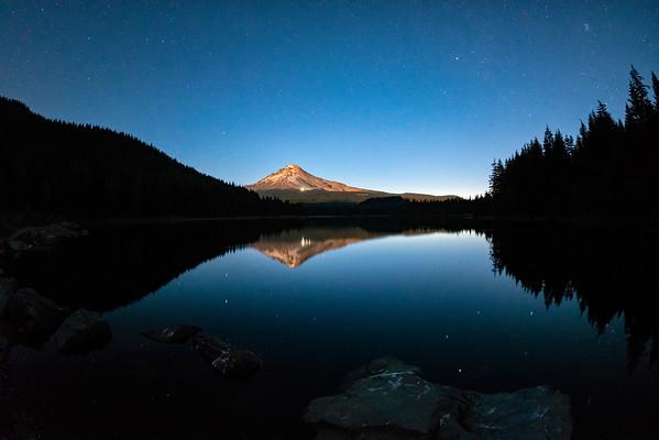 Mount Hood Stars Fish Eye - Mount Hood-6
