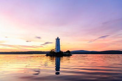 Loon Island Summer Sunrise 1
