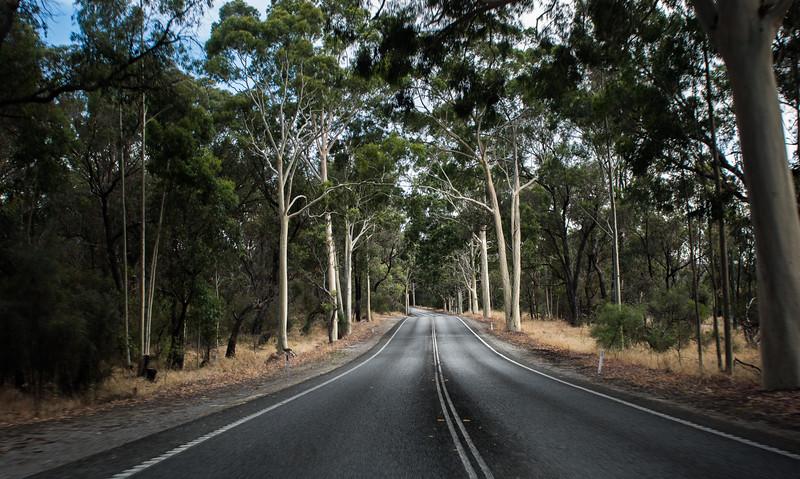 Road to Two Rocks WA Australia