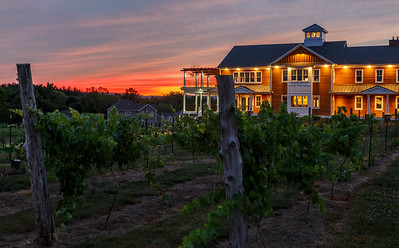 Winery at Sunset