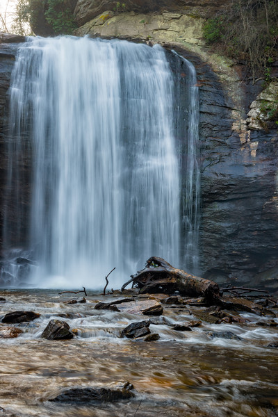 Looking Glass Falls - Pisgah National Forest - NC-16