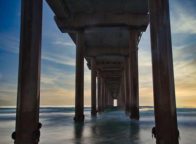 Scripps Pier in San Diego