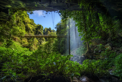 Crystal Falls in the Rainforest of Dorrigo National Park