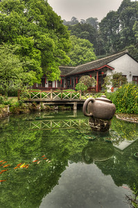 Tea House - Longjing Village - Dragon Well Tea Plantation