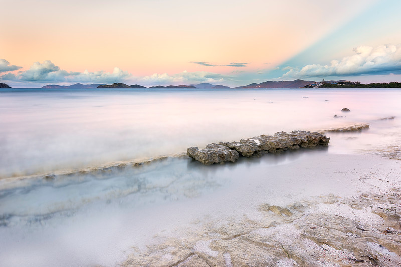 Lindquist Beach - St Thomas Virgin Islands - 4 minute exposure