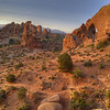 Sunrise, Arches National Park, Moab, Utah