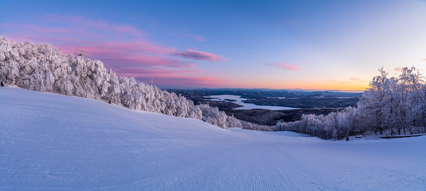 Sunapee Sunrise from Mount Sunapee