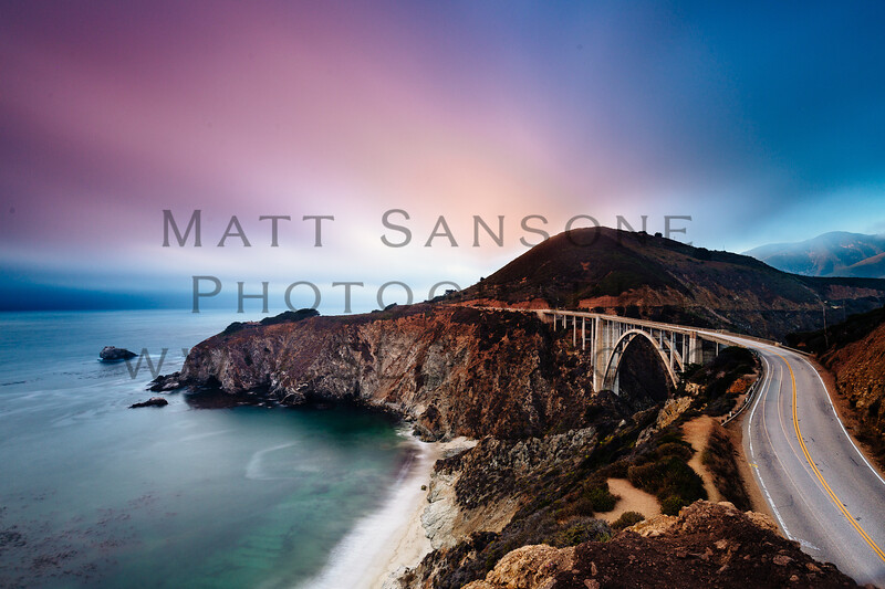Bixby Bridge at Last Light