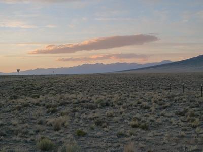 Sunset Over The Crestones