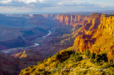 Grand Canyon and Colorado River at sunset (4)