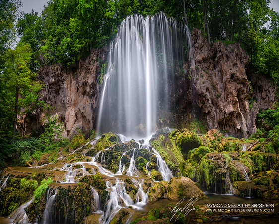 Fall Springs Falls || Falling Spring, Virginia, USA  Canon EOS 6D w/ EF24-105mm f/4L IS USM: 24mm @ 30.0 sec, f/7.1, ISO 100