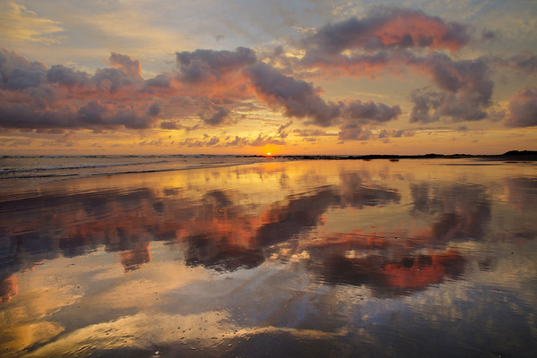 Amazing sunset at Playa Venado!