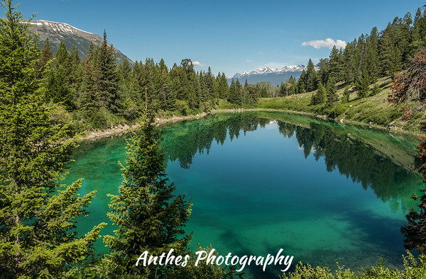Five Lakes, Jasper National Park, Alberta, Canada