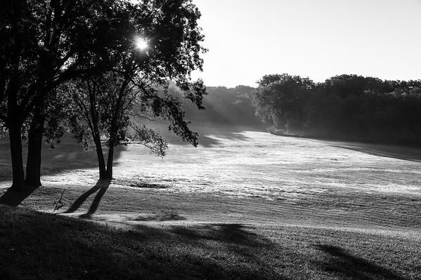 Early Morning Mist. Aldeen Park