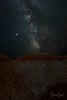 Perseid Meteor Shower & Milky Way over the Hoodoos