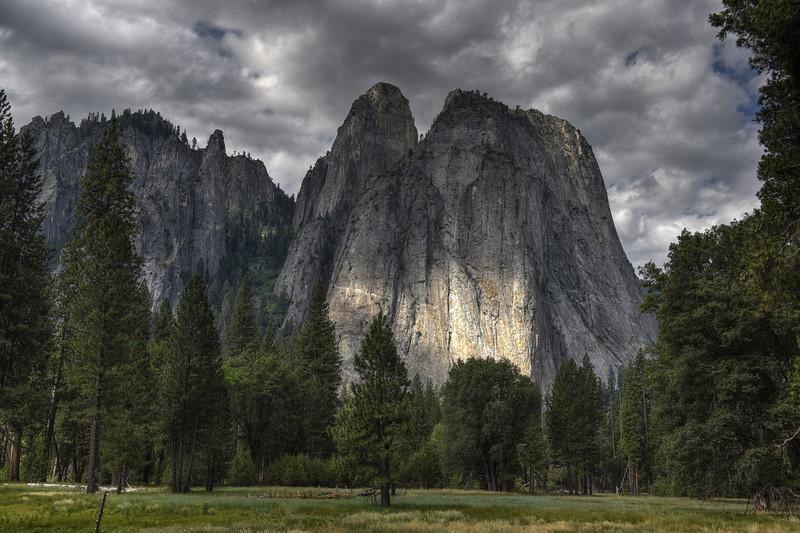 Cathedral Rock, Yosemite National Park, California