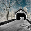 Covered Bridge in Bucks County, PA (infrared)