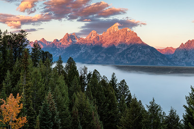 Teton Sunrise 2016