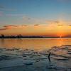 Cold Sunrise on Lake Erie