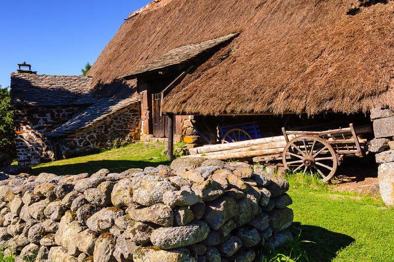 La ferme des frères Perrel - Chaumière XVIIème siècle