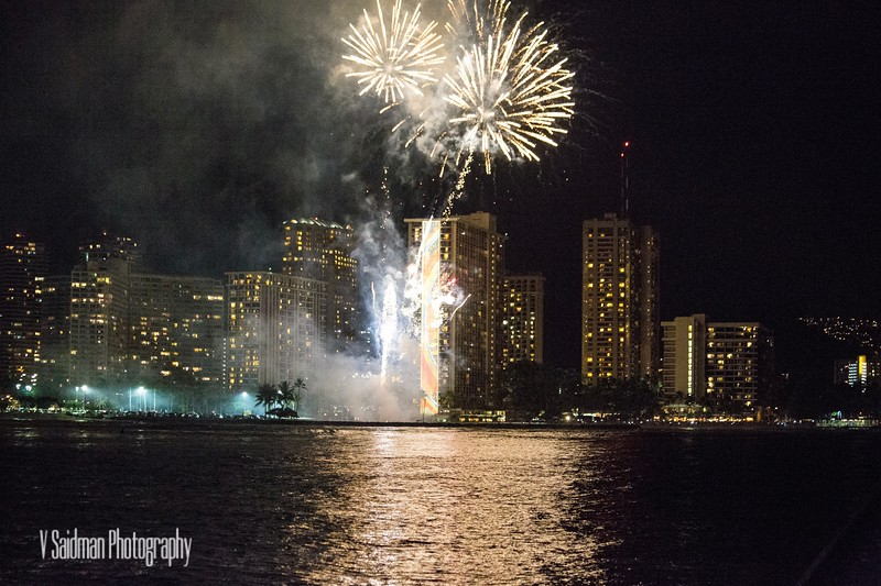 Just Another Friday Night in Honolulu