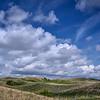 Clouds over the Nebraska Sandhills near Valentine, Nebraska