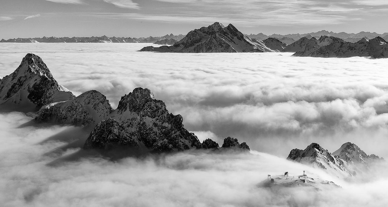 Above The Alps of Austria