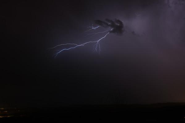 Lightning Through an Odd Cloud
