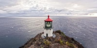 Makupu'u Lighthouse Wide- The Makapu'u Lighthouse on the island of Oahu, Hawaii 2012  Canon 5D MK III Canon EF 17-40mm f/4L USM
