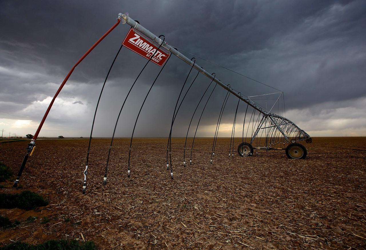 Storm.  Near Masterson, Texas.