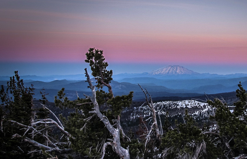 Mount Saint Helen's Sunrise