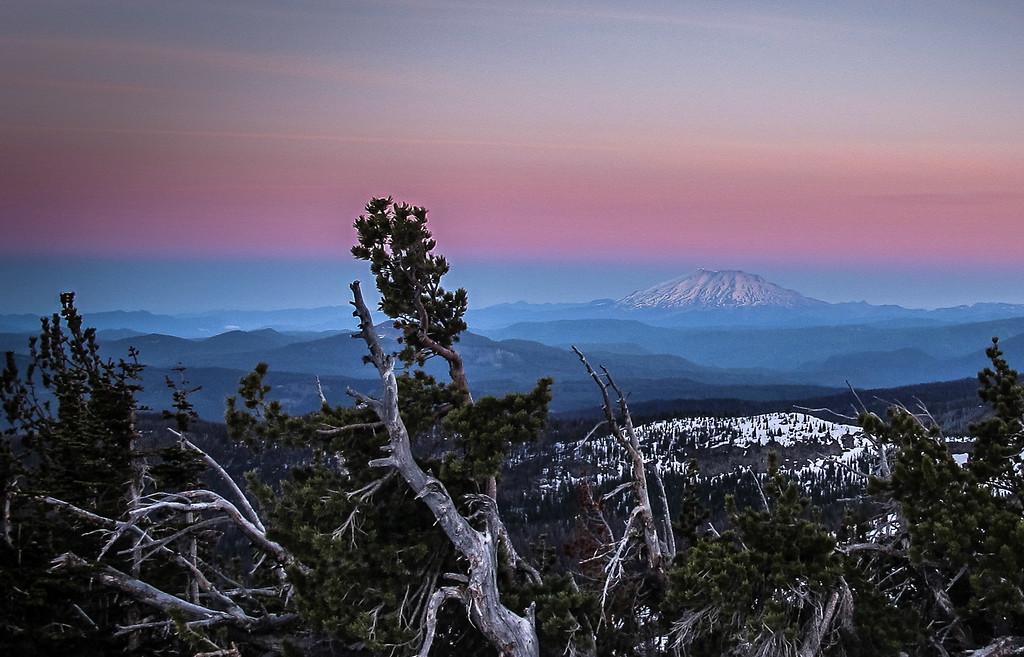 Mount Saint Helen's Sunrise