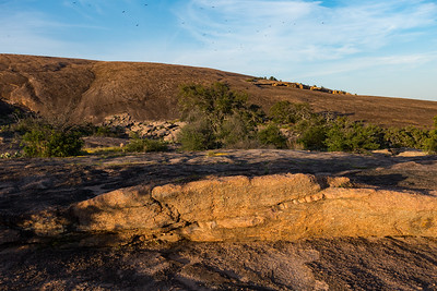 Sunset at Enchanted Rock, Texas