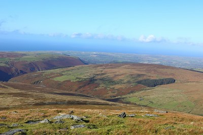The view from Snaefell 12